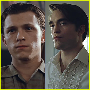 Tom Holland & Robert Pattinson Star In 'The Devil All The Time' Trailer