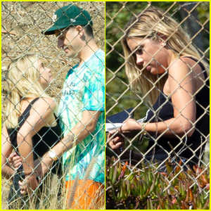 Ashley Benson Visits Boyfriend G-Eazy on Set of His New Music Video