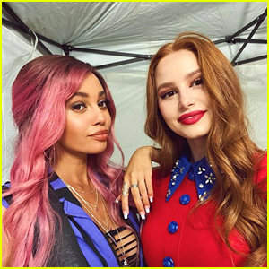 BFFs Vanessa Morgan & Madelaine Petsch Are Back As Choni On 'Riverdale' Set!