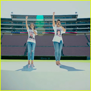 Chloe x Halle Perform National Anthem at First NFL Game of the Season