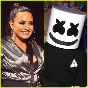 Demi Lovato & Marshmello Tease New Collab Coming Soon, Fans React!