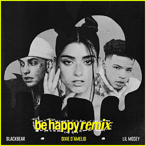 Dixie D'Amelio Drops 'Be Happy' Remix with blackbear & Lil Mosey