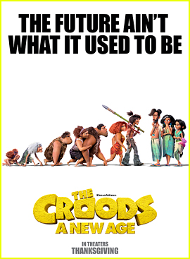 DreamWorks Debuts 'The Croods: A New Age' Trailer - Watch Now!