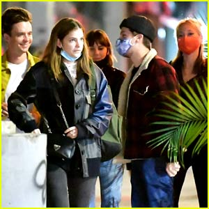 We Have Lots of Photos of Dylan Sprouse & Barbara Palvin Out With Friends In New York City