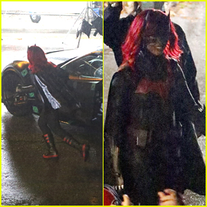 Javicia Leslie Spotted On Set Filming In Her 'Batwoman' Suit