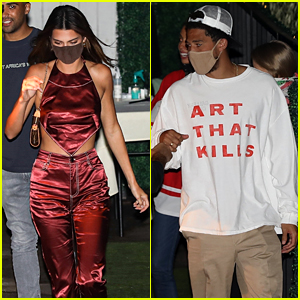 Kendall Jenner Steps Out for Dinner Date with Devin Booker
