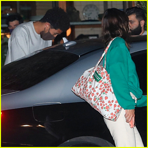 Kendall Jenner & Devin Booker Step Out For Chill Sunday Dinner Date