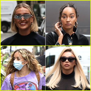 Little Mix Step Out For Radio Promo Ahead of Announcing 'The Search' Premiere Date