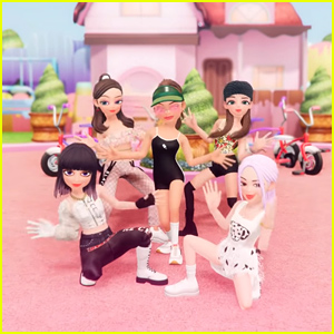 Selena Gomez Becomes Part of BLACKPINK In New Animated 'Ice Cream' Dance Video