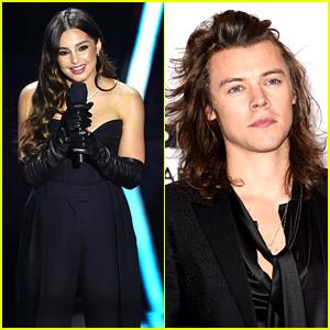 Addison Rae Accepts Harry Styles' Award On His Behalf at Billboard Music Awards
