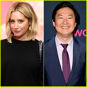 Ashley Tisdale Joins Ken Jeong & More On 'The Masked Dancer' Panel!