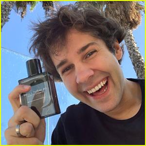 David Dobrik Launches 2 Signature Fragrances - 'David's Perfume'!