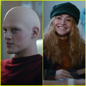 Fin Argus Shows Off Bald Head In New 'Clouds' Trailer With Sabrina Carpenter