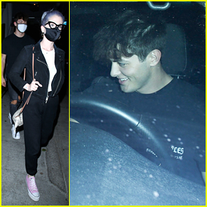 Griffin Johnson Grabs Dinner With Kelly Osbourne In WeHo