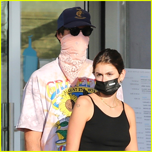 Jacob Elordi Grabs Lunch With Kaia Gerber Before '2 Hearts' Release
