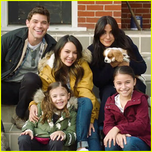 Janel Parrish & Jeremy Jordan's Christmas Movie 'Holly & Ivy' Premieres This Weekend!