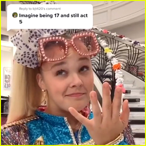 JoJo Siwa Has Perfect Clapback to Comment Saying She Still Acts 5 Years Old