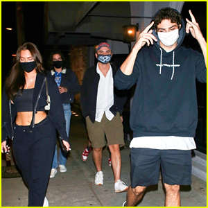 Noah Centineo & Stassie Karanikolaou Step Out After False Marriage Rumors (Photos)
