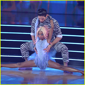 Skai Jackson Channels Doja Cat For 'Dancing With The Stars' Week 6