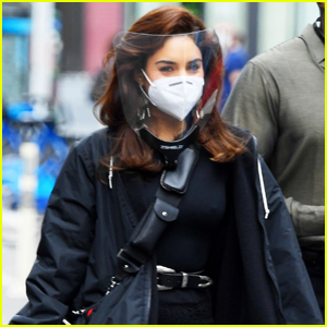 Vanessa Hudgens Gets to Work on 'Tick, Tick...Boom!' Movie in NYC