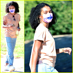 Yara Shahidi Gets In Sibling Bonding Time With Brother Sayeed at the Park