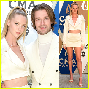 Abby Champion Joins Patrick Schwarzenegger at CMA Awards 2020