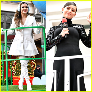 Ally Brooke, Sofia Carson & Lauren Alaina Perform at Macy's Thanksgiving Parade