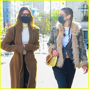 Kendall Jenner Checks Out Art with Bella Hadid at the Met Museum!
