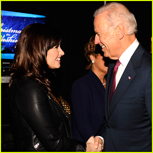 Demi Lovato Has Been Waiting To Share This Photo Until Joe Biden Was Elected