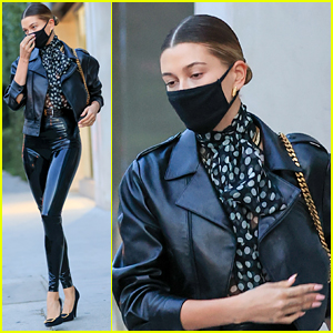 Hailey Bieber Is Smoking Hot In Skin Tight Pants!
