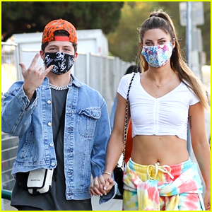 Hannah Stocking & Ondreaz Lopez Hold Hands On Sunday Outing