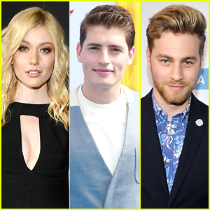 Katherine McNamara, Gregg Sulkin & Cameron Fuller Are Developing 'The Devouring Gray' For The Screen!
