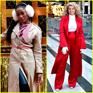 Keke Palmer, Tori Kelly & Bebe Rexha Sing at the Macy's Thanksgiving Day Parade