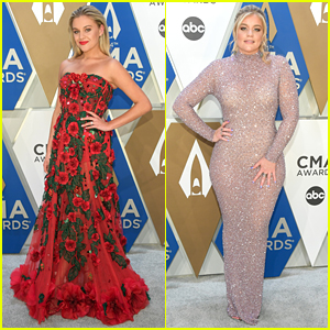 Kelsea Ballerini & Lauren Alaina Nail The One Hand On Hip Pose at CMAs 2020