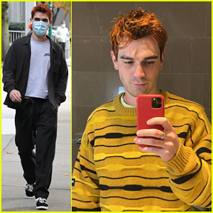 KJ Apa Shows Off His Shorter New Haircut!