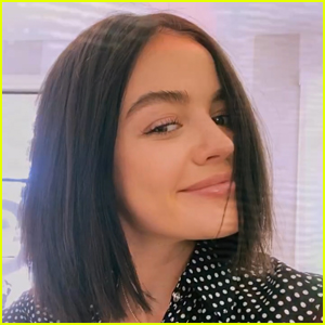 Lucy Hale Is Back To Brunette Before Filming 'The Hating Game'!