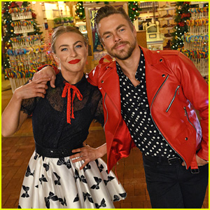 Julianne & Derek Hough Co-Hosting Disney's Magical Holiday Celebration!
