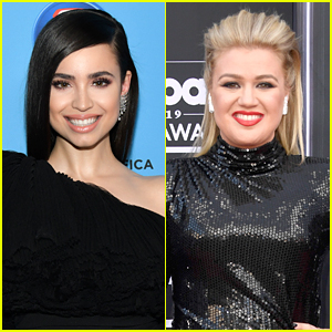 Sofia Carson 'Almost Had a Heart Attack' When Kelly Clarkson Tweeted Her