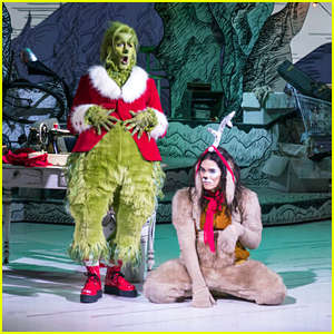 You Have To See Booboo Stewart's Transformation to Young Max the Dog From 'Dr Seuss' The Grinch Musical!'