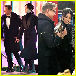 Hailee Steinfeld Films 'Hawkeye' At Famed Toy Store FAO Schwarz In NYC