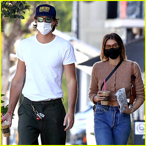 Jacob Elordi Spotted On a Thursday Coffee Run with Kaia Gerber