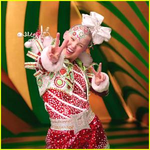 JoJo Siwa Stars In Meghan Trainor's 'I Believe In Santa' Music Video - Watch!