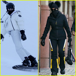 Kendall Jenner Goes Snowboarding in Aspen on New Year's Eve