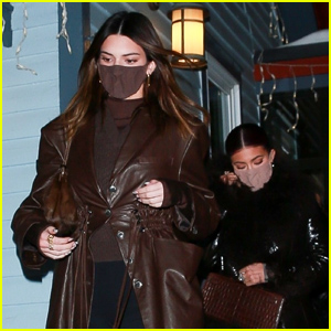 Kendall & Kylie Jenner Enjoy a Night on the Town in Aspen With Mom Kris Jenner!