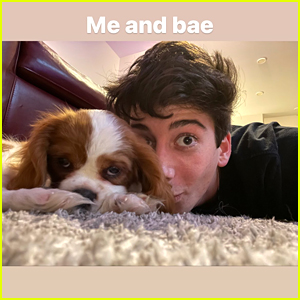 Milo Manheim Got The Cutest New Puppy Just Before Christmas