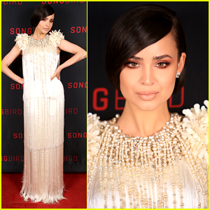 Sofia Carson Got To Write Her On-Screen Love Story With KJ Apa For 'Songbird'
