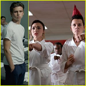 Tanner Buchanan, Peyton List & More Star In 'Cobra Kai' Season 3 First Look Photos!