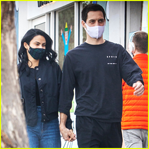 Camila Mendes & Grayson Vaughan Hold Hands While Out In Los Angeles