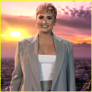 Demi Lovato Covers 'Lovely Day' For 'Celebrate America' Event - Watch Now!