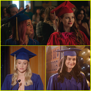 The 'Riverdale' Cast Wrap Up High School In First Look Photos at Graduation
